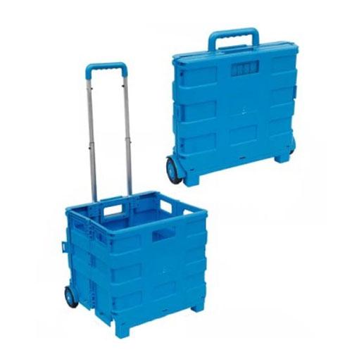 praktický skladacie debna nakupovanie trolejbus sáčok truhlík skladacie valcovanie vozík