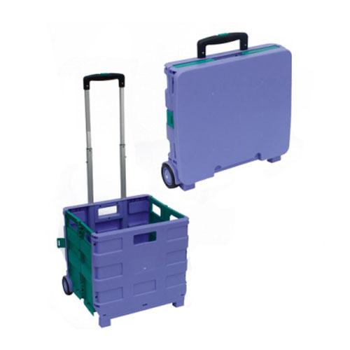 plastický skladacie nakupovanie trolejbus Práčovňa Cestovanie prenosný vozík s Koleso