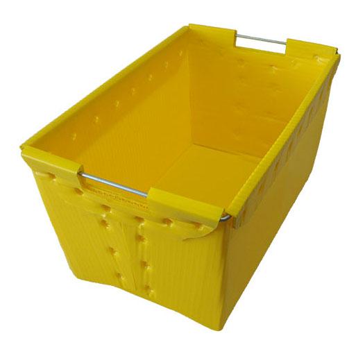 skladacie polypropylén dutý skladovanie PP zvlnený plastický boxy pre fruitsvegetables